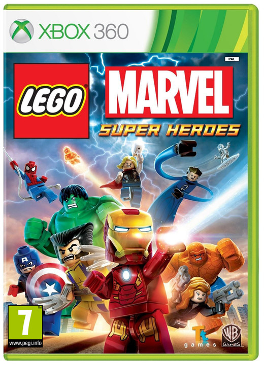 LEGO Marvel Super Heroes - X360
