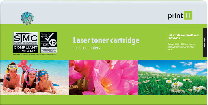 PRINT IT alternativní HP Q3960 LJ2550