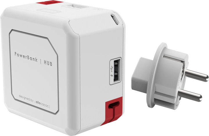 PowerCube Powerusb Portable, 5000 mAh, IEC