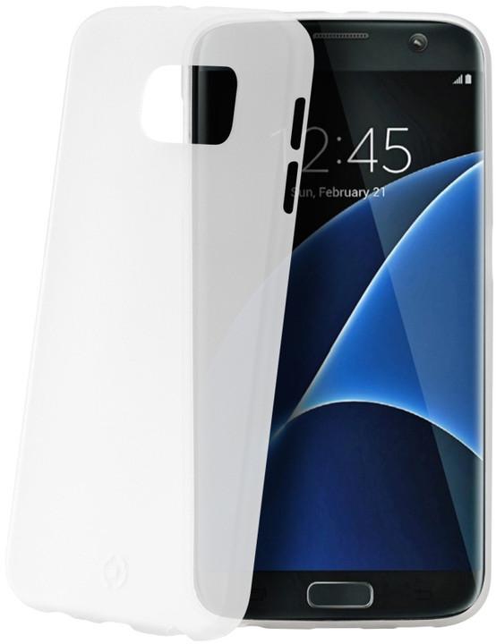 CELLY Frost pouzdro pro Samsung Galaxy S7 Edge, 0,29 mm, bílá