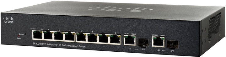 Cisco SF302-08PP
