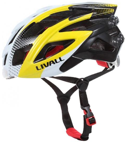 LIVALL BH60 chytrá cyklistická přilba, M-L bílo-žlutá