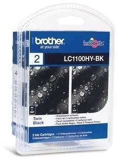 Brother LC-1100HY BKBP2, multipack 2x černá