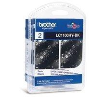 Brother LC-1100HY BKBP2, multipack 2x černá - LC1100HYBKBP2