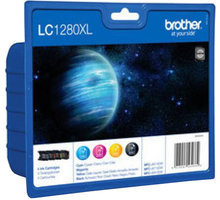 Brother LC-1280XLVALBP - inkoust multipack (černá+tři barvy) - LC1280XLVALBP