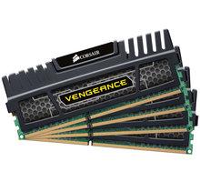Corsair Vengeance Black 8GB (4x2GB) DDR3 1600 CL 9 - CMZ8GX3M4X1600C9