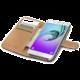 CELLY Wally pouzdro pro Samsung Galaxy A3 (2016), PU kůže, černá