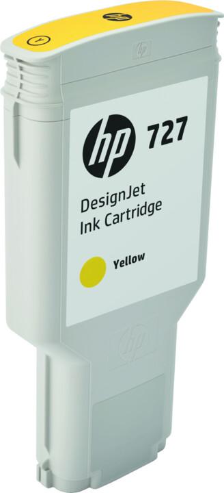 HP F9J78A no. 727 (300ml), yellow
