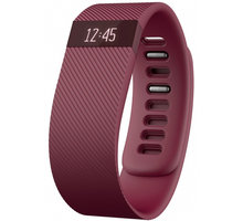 Fitbit Charge, L, burgundy - FB404BYL-EU