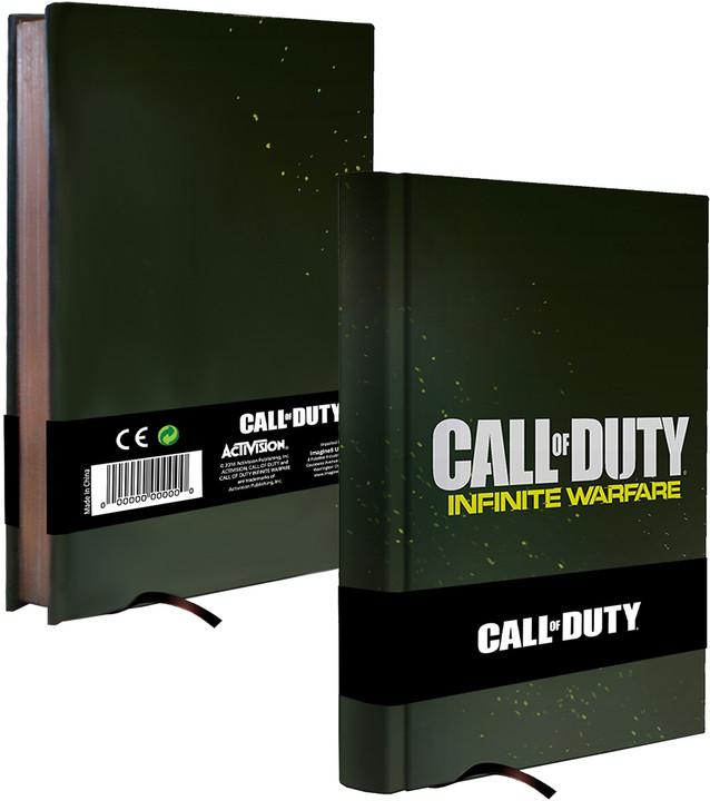Call of Duty: Infinite Warfare zápisník