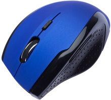 CONNECT IT bezdrátová optická myš V2, modrá - CI-155
