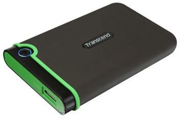 Transcend StoreJet 25M3 - 2TB, černá