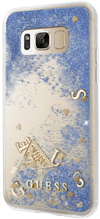 Guess Liquid Glitter TPU Case Galaxy S8, Purple