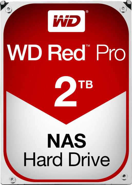 WD Red Pro (FFSX) - 2TB