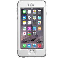LifeProof NUUD pouzdro pro iPhone 6 Plus, bílá/šedá - 77-51867 + Zdarma Lifeproof Water Bottle - Hliníková láhev 710 ml v hodnotě 489 Kč