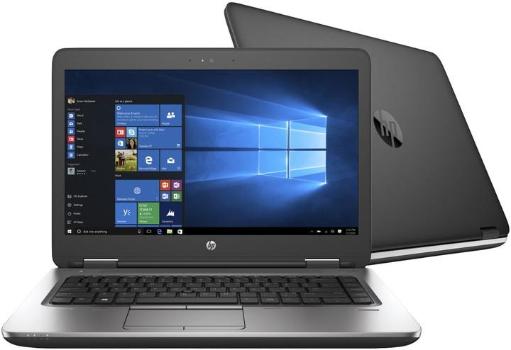 HP ProBook 645 G2, černá