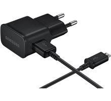Samsung nabíječka EP-TA12EBEU, micro USB, 2 A, černá - EP-TA12EBEUGWW