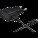 Samsung nabíječka EP-TA12EBEU, micro USB, 2 A, černá