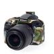 Easy Cover silikonový obal Reflex Silic pro Nikon D3300 Camouflage