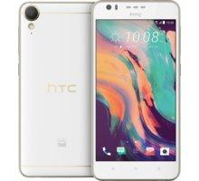 HTC Desire 10 Lifestyle, bílá + Zdarma CulCharge MicroUSB kabel - přívěsek (v ceně 249,-)