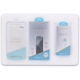 EPICO 3in1 CLEAR EDITION iPhone 6/6S - Case Gloss + Cable MFI + Glass