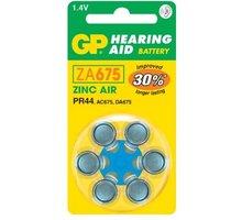 GP, ZA675, baterie do naslouchadel, 6ks - 1044067516