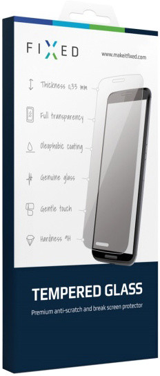 FIXED ochranné tvrzené sklo pro Samsung Galaxy A3, 0.33 mm