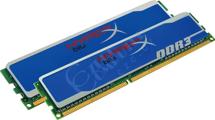 Kingston HyperX Blu 4GB (2x2GB) DDR3 1333