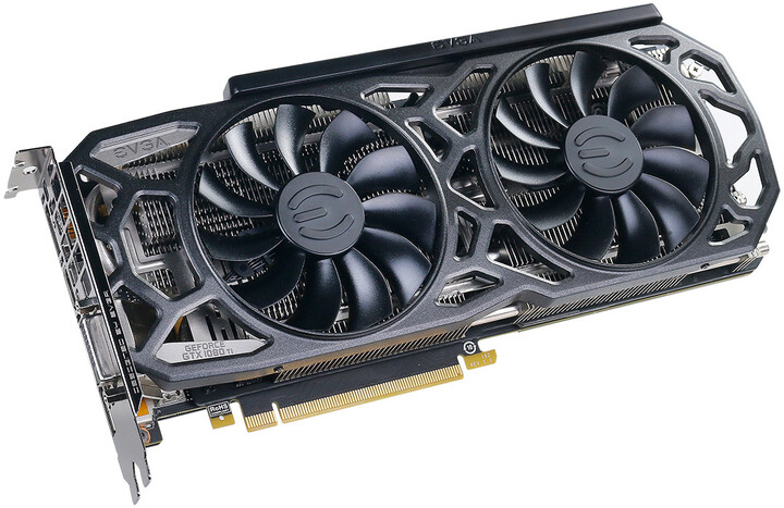 EVGA GeForce GTX 1080 Ti SC Black Edition GAMING, 11GB GDDR5X