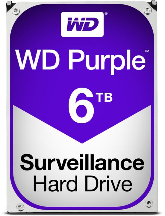 WD WD60PURX Purple - 6TB