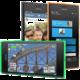 Nokia Lumia 730 Dual SIM, oranžová  + Zdarma cyklo-turistická navigace SmartMaps v ceně 990 Kč