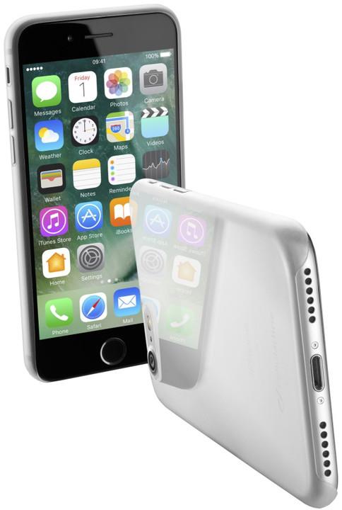 CellularLine ZERO ultratenký zadní kryt pro Apple iPhone 7, čirý + fólie