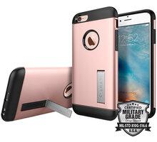 Spigen Slim Armor ochranný kryt pro iPhone 6/6s, rose gold - SGP11723