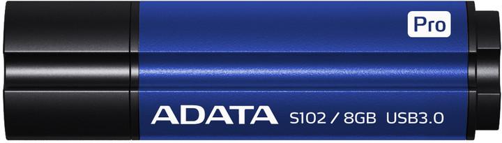 ADATA Superior S102 Pro 16GB, titanová modrá