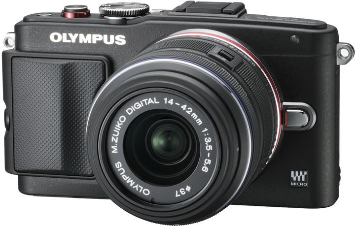 Olympus E-PL6 + 14-42 mm II R, černá