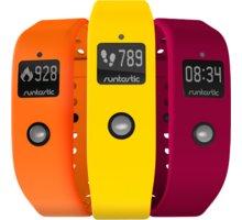 Runtastic Set barevných náramků 1, žlutá, oranžová, růžová - RUNORST1