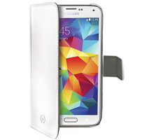 CELLY Wally pro Samsung Galaxy S5 mini, PU kůže, bílá - WALLY422WH