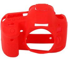 Easy Cover silikonový obal pro Canon 5D Mark III, červená - ECC5D3R