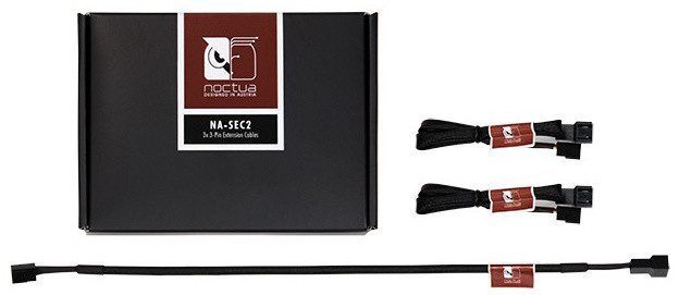 Noctua NA-SEC2 3-Pin Extension Cables
