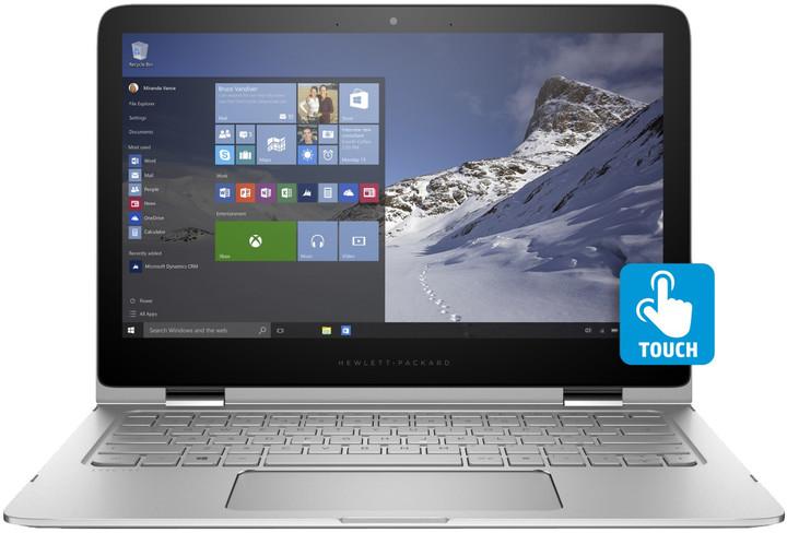 HP Spectre x360 13 (13-4102nc), stříbrná