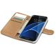 CELLY Wally pouzdro pro Samsung Galaxy S7 Edge, PU kůže, černá