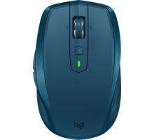 Logitech MX Anywhere 2S, modrá - 910-005154