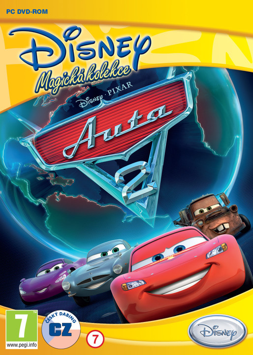 Walt Disney: Auta 2 - PC
