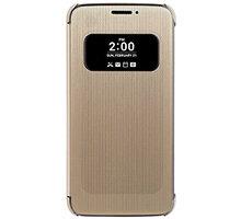 LG Folio S-View CFV-160 pouzdro pro LG G5, zlatá - CFV-160.AGEUGD
