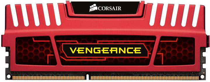 Corsair Vengeance Red 8GB (2x4GB) DDR3 1866