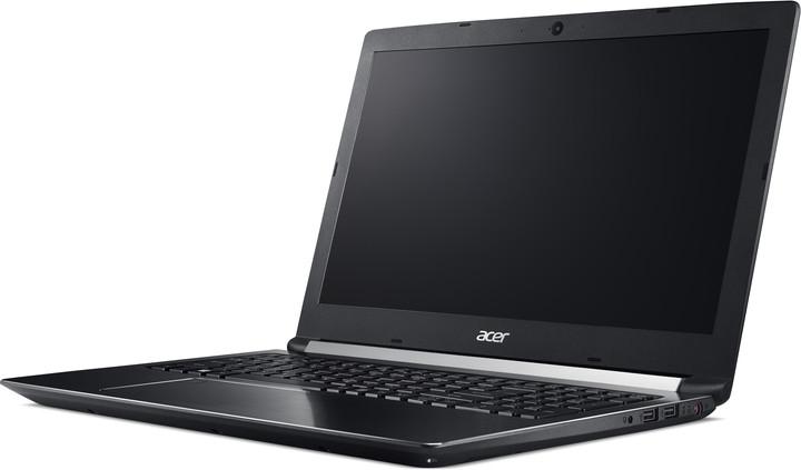 Acer Aspire 7 kovový (A715-71G-70C0), černá