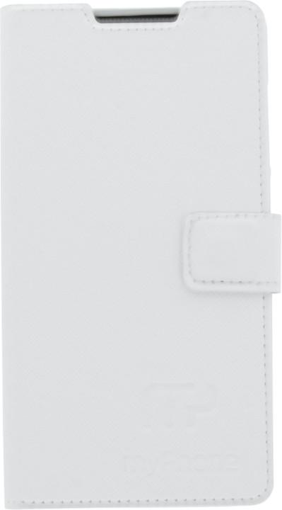 myPhone pouzdro s flipem pro Venum, bílá