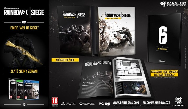 Rainbow Six: Siege - Collector's Edition (PS4)