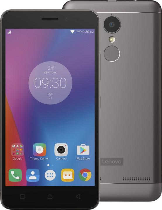 Lenovo K6 - 16GB, Dual SIM, šedá