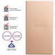 Sony CP-SC10N Powerbank, 10000mAh, champagne